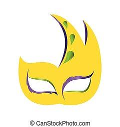 résumé, masque, carnaval