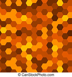 résumé, pattern., seamless, illustration, hexagones, arrière-plan., vecteur, géométrique