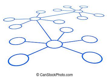 résumé, réseau, connection.