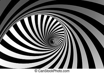 résumé, spirale, 3d