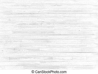 résumé, texture, bois, fond, blanc, ou