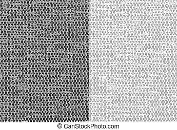 résumé, toile, textured, lin, vector., tissu, arrière-plan.