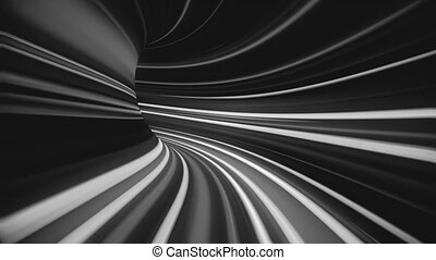 résumé, tunnel., 4k, chaîne