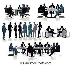 réunion, beratung