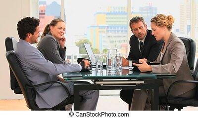 réunion, business