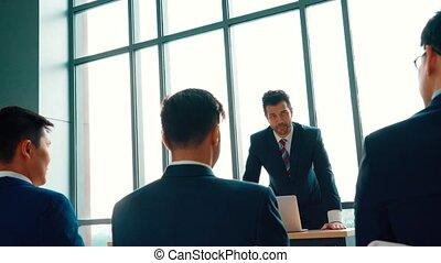 réunion, groupe, séminaire, conférence affaires, gens