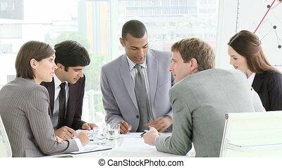 réunion, multi-culturel, business