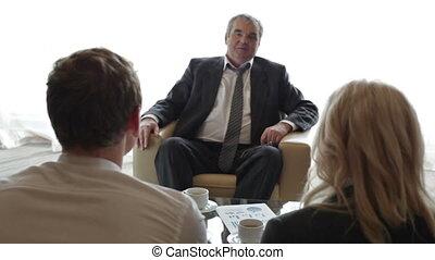 réunion, patron