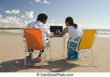 réunion, plage