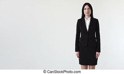 réussi, affaires femme
