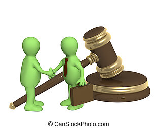 réussi, décision, problème, légal
