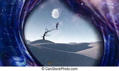 rêves, désert