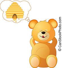 rêves, teddy