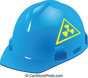 radiation, sécurité, signe