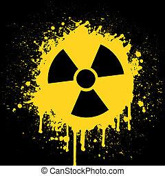 radioactif, signe