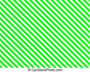 raie diagonale, vert
