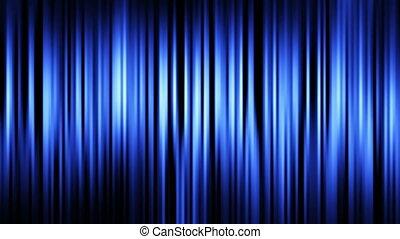 raies bleues, fond, boucle