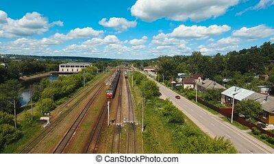 railway., train