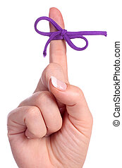 rappel, doigt, ficelle, bow-tied, contient