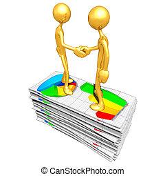 rapport, concept, business