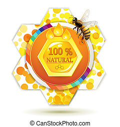 rayon miel, abeille