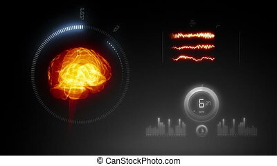 rayon x, hu, san, interface, %u2013, monde médical