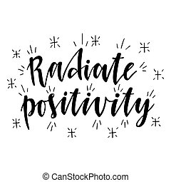 rayonner, positivity.