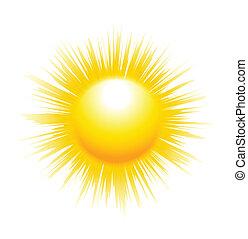 rayons soleil, dièse