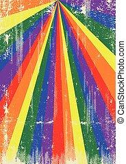rayons soleil, grunge, gay