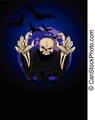 reaper, halloween, sinistre, horrible