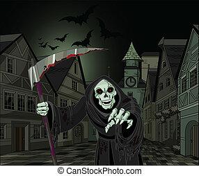 reaper, halloween, sinistre