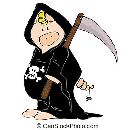 reaper, pig.