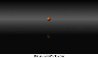rebondir, basket-ball, 3