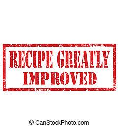 recette, improved-stamp, greatly