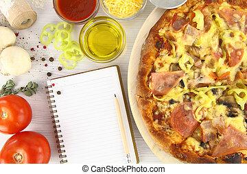 recette, pizza
