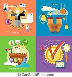 recherche, concurrent, idées, identité, analyse