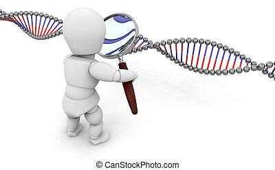 recherche génétique
