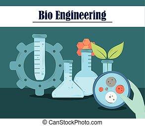recherche, science, bioengineering