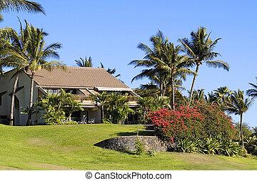 recours, kihei, hawaï, localisé, copropriété, maui