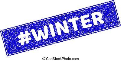 rectangle, #winter, textured, cachet, timbre, grunge