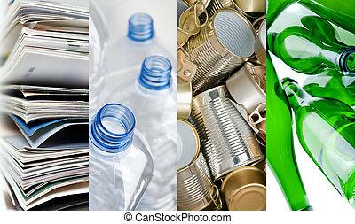 recyclable, matériels
