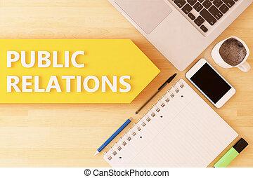 relations, public