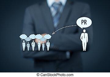 relations publiques, pr