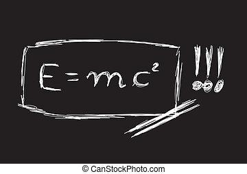 relativité, théorie, croquis