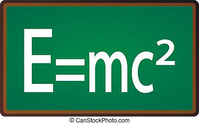 relativité, théorie, tableau