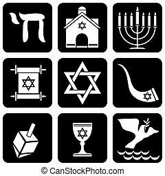 religieux, judaïsme, signes