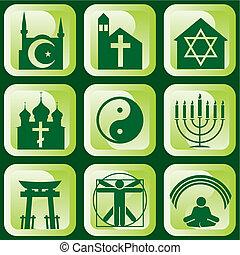 religieux, signes