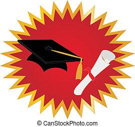 remise de diplomes, cachet