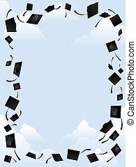 remise de diplomes, frontière