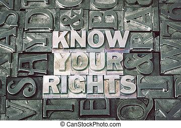 rencontré, ton, savoir, droits